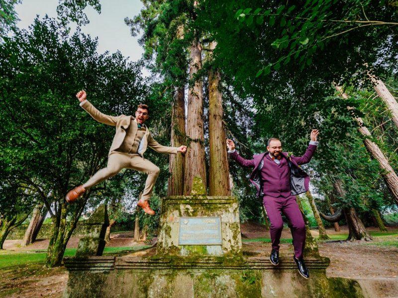 Boda en el Castillo de Soutomaior | Diego & Adrián