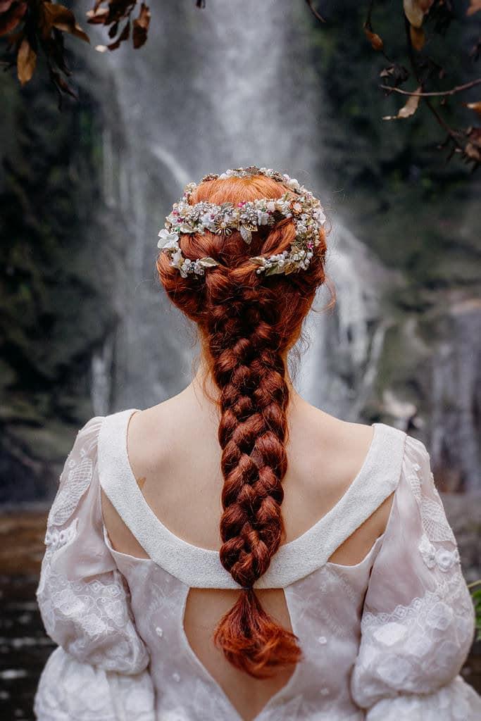 trenza xxl peinado bodas