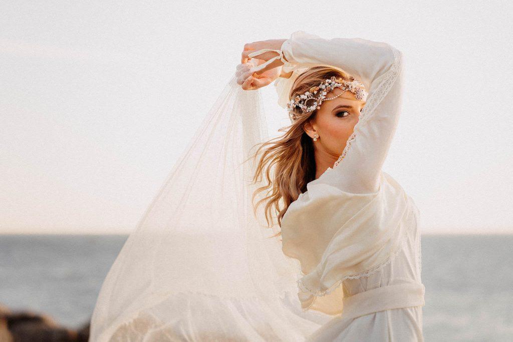 peinado bodas pelo ondulado