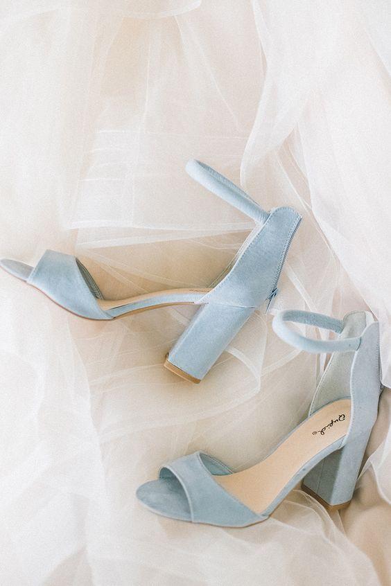 zapatos novia 2020 tacon ancho