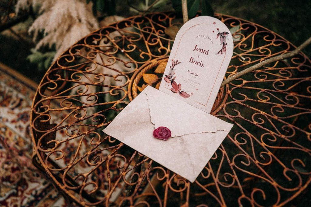 invitacion boda letra bonita